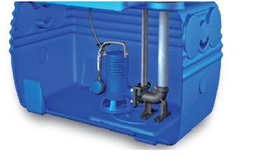 内置污水提升器