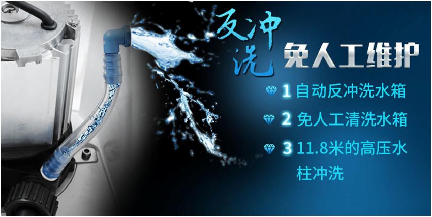 污水提升器反冲洗装置