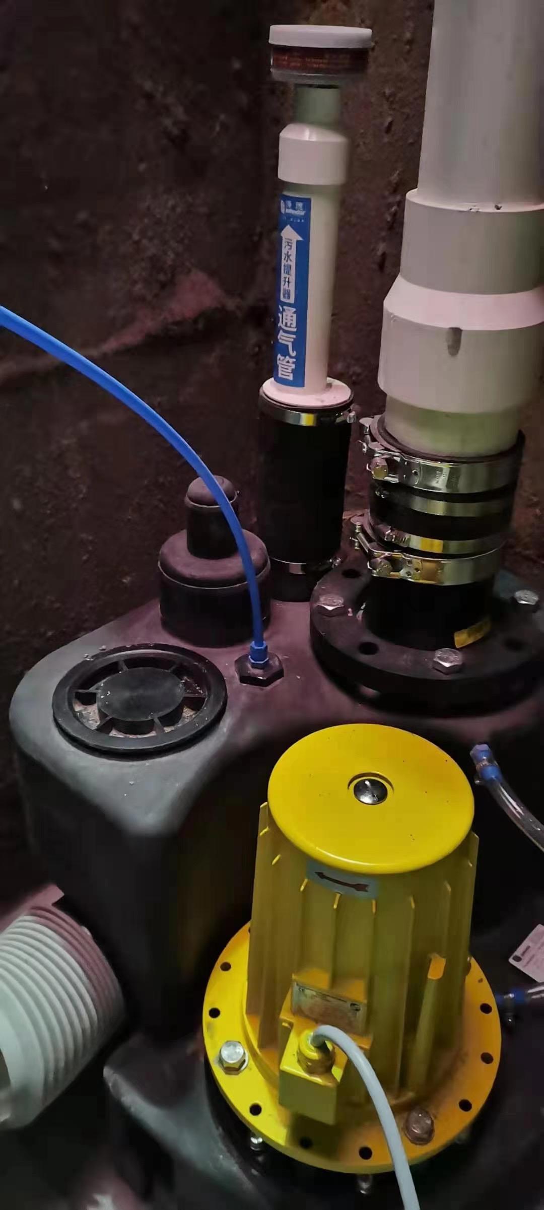 通气管安装实例
